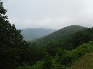 A view from the Blue Ridge Parkway